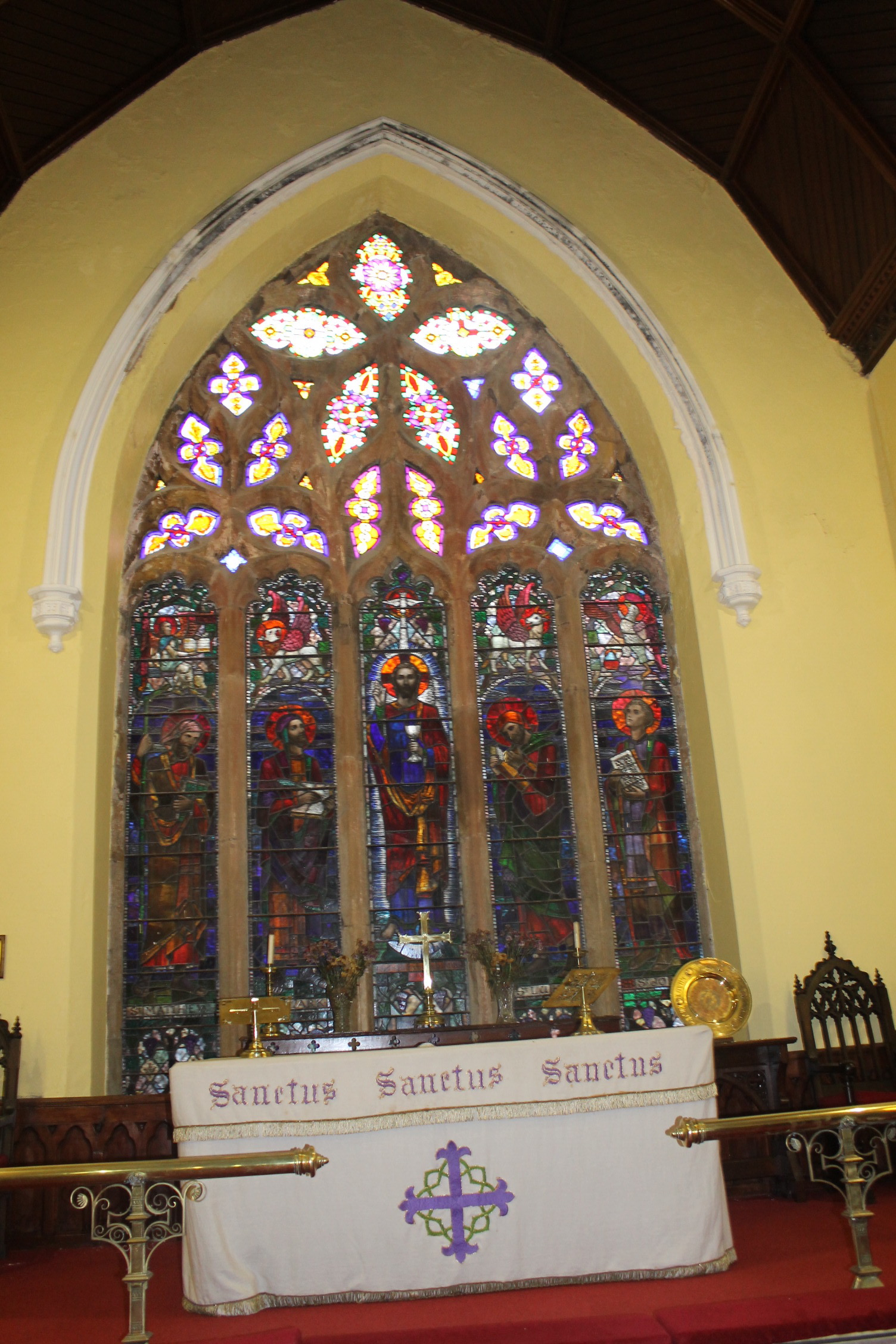 Around Our Town Ep. 7 – Old Saint Mary's (Part 2) – The East Window
