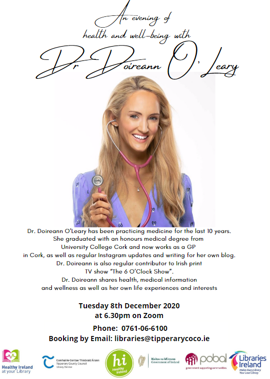 An Evening of Health and Well-Being with Dr. Doireann O'Leary