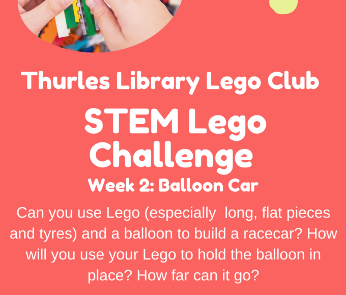 Thurles Library Lego STEM Challenge – Week 2