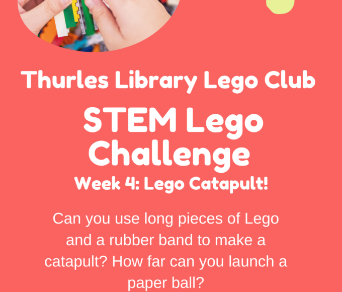 Thurles Library's Lego STEM Challenge – Week 4