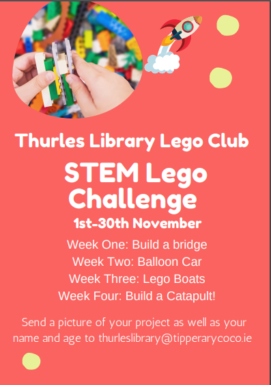 Thurles Lego Club STEM Challenge