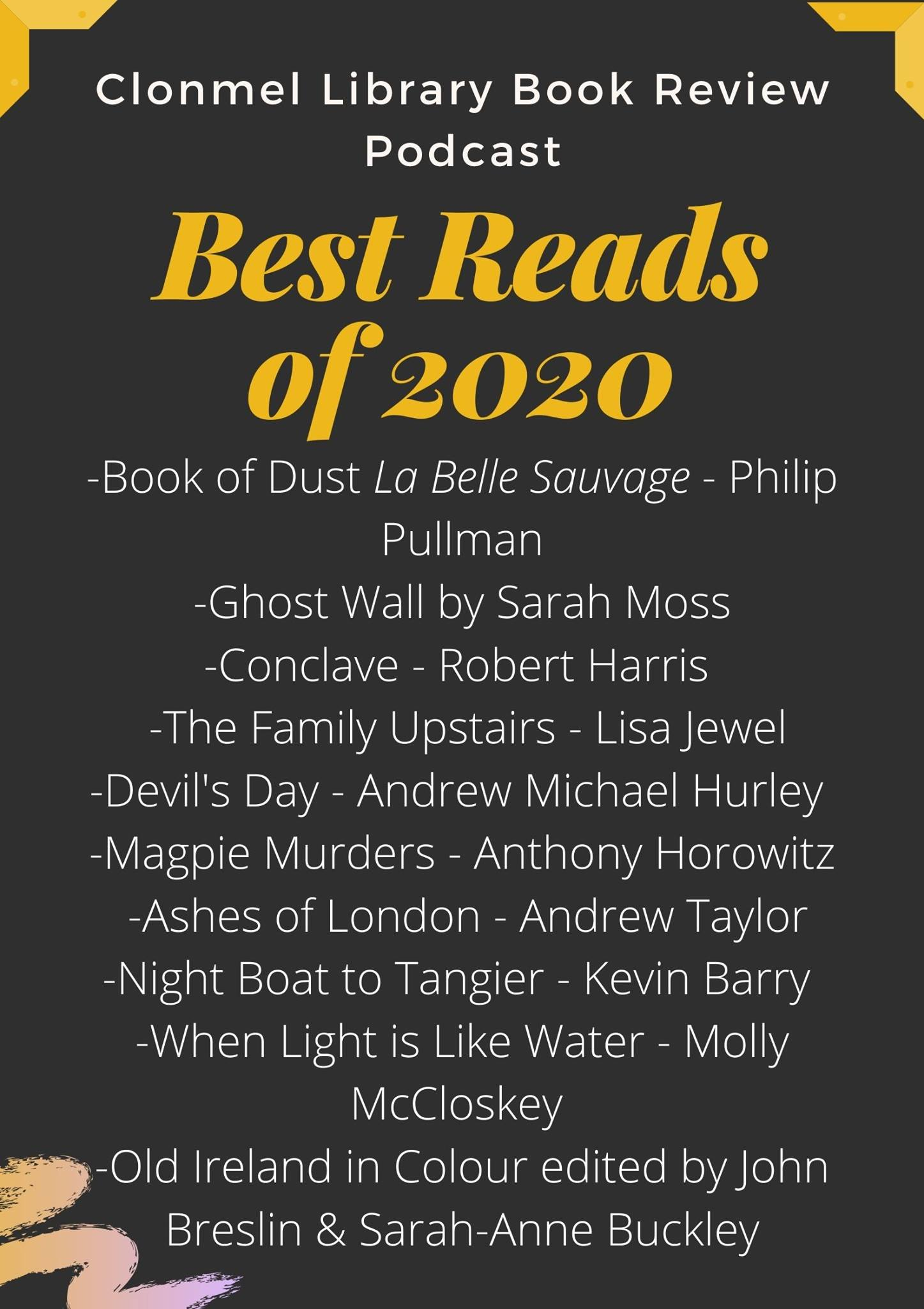 The Book Review Podcast: Top 10 Reads of 2020 (Part 1)