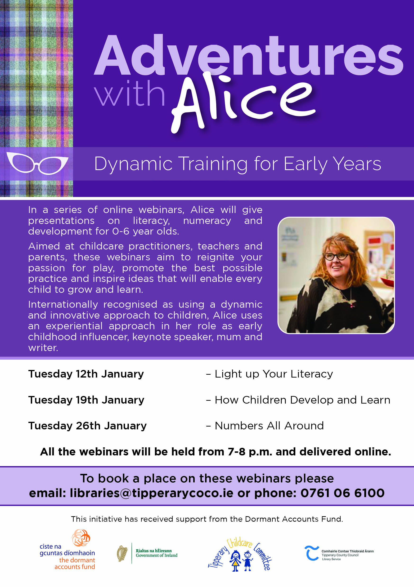 Dynamic Training For Early Years Educators With Internationally Renowned  Alice Sharp